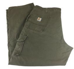 Carhartt 14806 Men's Beige Dungaree Fit Cargo Work Pants 100