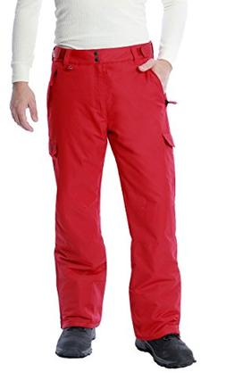 Men's 1960 Snow Sports Cargo Pants, Small, Vintage Red