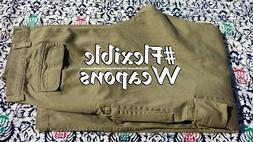 $20 Gap Khakis Tan 33/32 Tactical Cargo Pants Camping Huntin