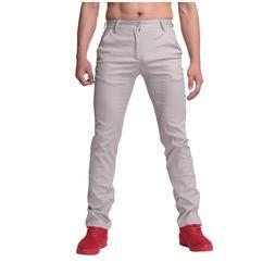 2019 Men Fashion <font><b>Pants</b></font> Casual Solid Colo