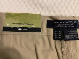 5.11 Men's Khaki Tactical Cargo Pants Size 48
