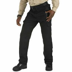 5.11 Tactical NEW Solid Black Mens Size 38x30 Cargo Taclite
