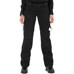 5.11 Tactical Women's Taclite EMS Pants, Black, 4/Long