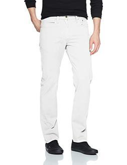 Levi's Men's 502 Regular Taper Fit Pant, White - Bull Denim