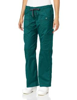 Dickies 857455 Youtility Women's Cargo Scrub Pant Hunter Gre