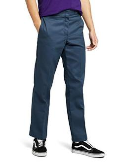 Dickies 874AF 38 34 Mens Plain Front Work Pant Airforce Blue