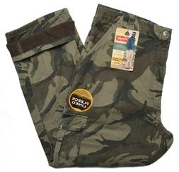 Wrangler #9579 NEW Men's Camo Relaxed Fit Fleece Lined Cargo