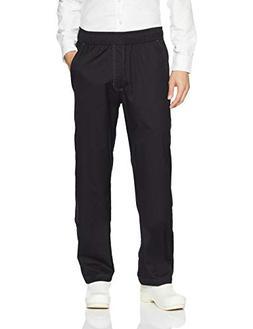 Chef Works Men's Cool Vent Baggy Chef Pants, Black, Large