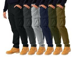 Alamo Mens Cargo Combat Trousers 6 pocket Workwear full Pant