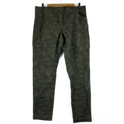 Supplies by Unionbay Women's Ankle Cargo Pants Green Camo US