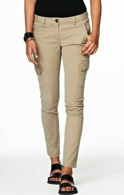 Armani Exchange A|X Women's Skinny Cargo Pants/Jeans - E5P14