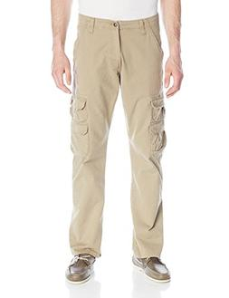 Wrangler Authentics Men's Premium Twill Cargo Pant, British