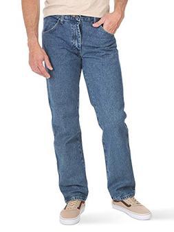 Wrangler Authentics Mens Classic Regular-Fit Jean, Stonewash