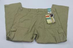 Wrangler Authentics Mens Pant 40x30 Classic Cargo Twill Khak