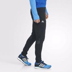 Mens Adidas Response Astro Running Track Pants Black