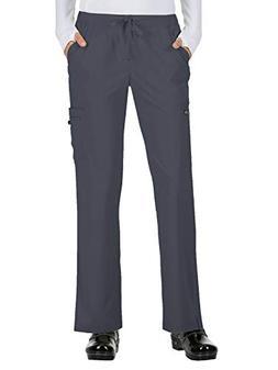 KOI Basics Women's Holly Scrub Pants Charcoal SP