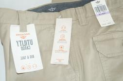 Dockers Beige Utility Cargo Men 38 X 38 Straight Fit Pant St