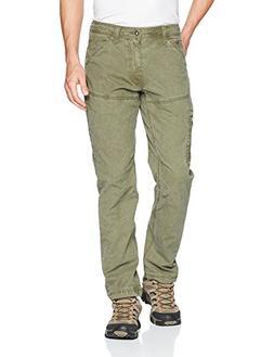 """prAna Bentley Pants 32"""" Inseam Pants, Cargo Green, Size 33"""