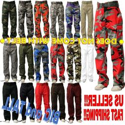 big and tall men military army camouflage