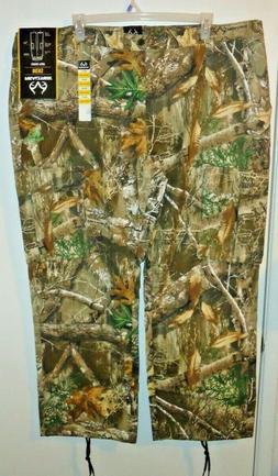 Big Men's Realtree Camouflage Cargo Pants Hunting Work Wear