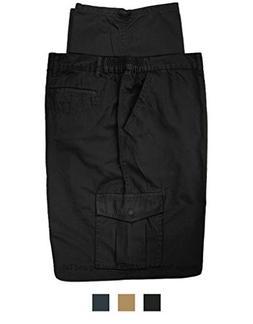 big tall cargo pants cotton