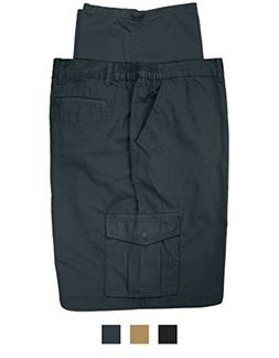 Full Blue Big & Tall Men's Cargo Pants 100% Cotton 52 X 28 N