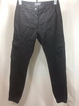 "Match Black Cargo Pants- Mens Size 28"" Waist x 29"" Inseam- E"