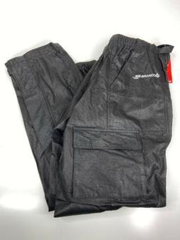 Compass 360 Black Waders RainTek Cargo Pants Size L