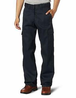 Dickies Blue Mens Size 34X32 Relaxed Straight Cargo Stretch