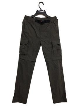 UNIONBAY Boy Convertible Comfort Cargo Pants DARK GREEN - SM