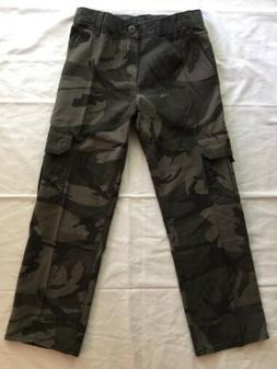 Boys Wrangler Camouflage Cargo Pants Size 10 Regular
