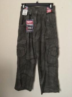 Boys Cargo Camoflage Pants W/Adj. Waist WRANGLER Original Si