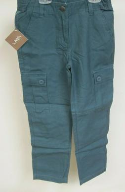 Tea Collection Boys Cargo Pants Storm Blue 8 years New