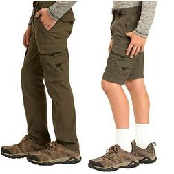 UNIONBAY Boys Convertible Lightweight Comfort Stretch Cargo