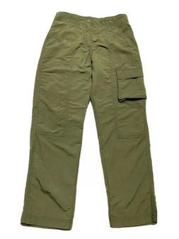 Patagonia Boys Kids Baggies Cargo Pants Size S 12 Years Mili