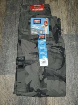 Boys Military Cargo Wrangler Pants Camo Camouflage Size 14 S