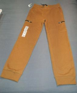 Boys Pants Old Navy size Large 10-12 Cargo Joggers Brown NEW