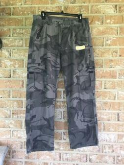 Wrangler Boys Youth Classic Camo Cargo Pants Adjust to Fit S
