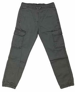 UNIONBAY Boys' Youth Jogger Cargo Pull-On Stretch Pants, XS