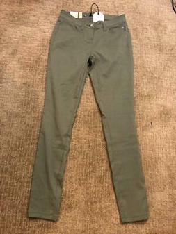 Prana Briann Pants Women's Cargo Green Size 2 Regular Inseam