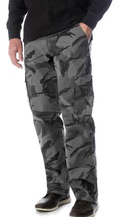 Wrangler Camo Flex Waist Cargo Pants Mens Relaxed Fit Straig