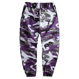 Camouflage Military <font><b>Pants</b></font> <font><b>Cargo