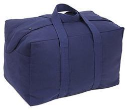 Rothco Canvas Small Parachute Cargo Bag, Navy Blue