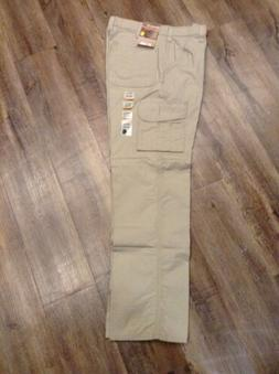 Carhartt Canvas Utility Cargo Pants 32X34 Original Fit New W