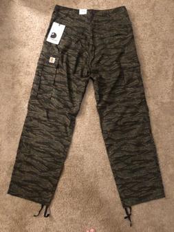 Carhartt WIP Cargo Camo Pants 32 X 32