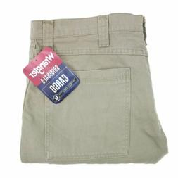 Wrangler Cargo Pants 36x30 Men's Khaki Relaxed Fit Pockets W
