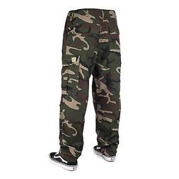 Carhartt Wip Cargo Pants Camo Green - Wide Ripstop Cargo Tro