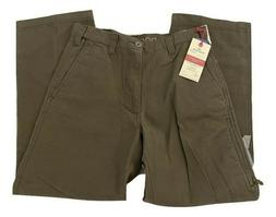 Dockers Cargo Pants Classic Fit Flat Front Brown Cotton men