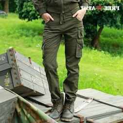 Cargo Pants Military Casual Combat Army Trousers Women Hikin