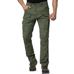 Men Cargo Pants Tactical Work Wear Outdoor Big and Tall Loos